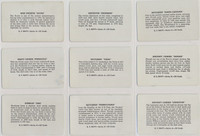 """1940s R112-6 Card-O U S Navy Series A Text Back Lot 15/22 """""""" Will Sell Singles  #*"""