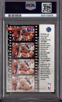 1993-94 Upper Deck #180 Michael Jordan/Stacey Augmon PO PSA 9 Mint  ID: 312373