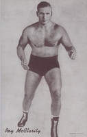 1947/66 Wrestling Exhibits Roy McClarity  #*