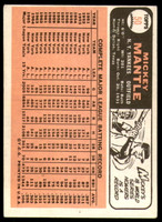 1966 Topps #50 Mickey Mantle DP Excellent  ID: 235806