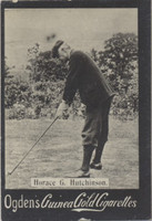 1901 Ogden Cigarette Card Guinea Gold Golf Horace G Hutchinson  #*