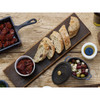 Bamboo Cutting Board With Ceramic Bowl - Sabatier Maison