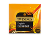 TWININGS  ENGLISH BREAKFAST TEA ENVELOPE 50's