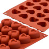 Silicon Mould - Heart x 24's