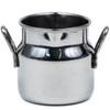 Mini Stainless Steel Milk Churn 7cl