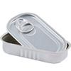 Aluminium Sardine Tin & Lid - Rectangle