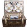 Picnic Hamper Antique Wash 4 Person