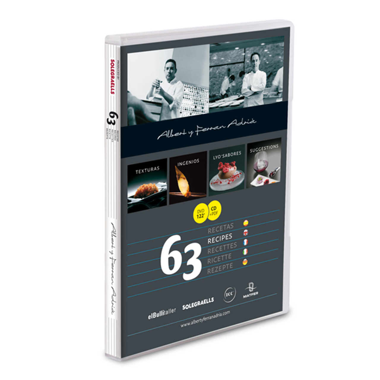 elBulli 63 Recipe DVD