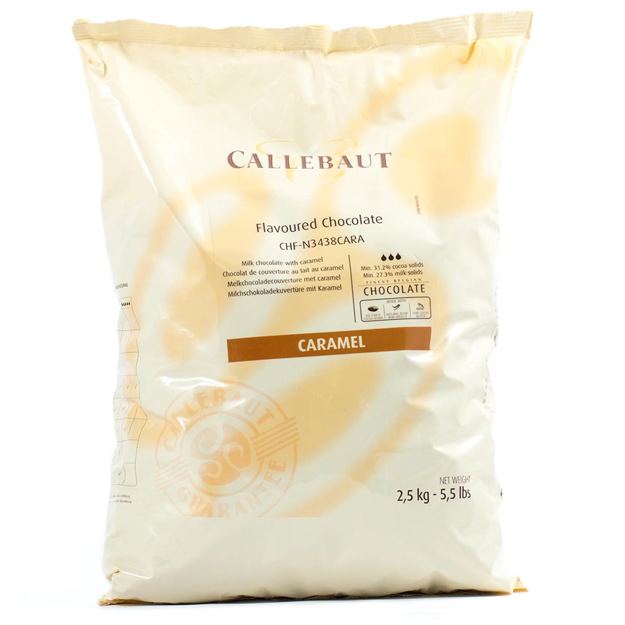 Chocolate Callets Callebaut Caramel