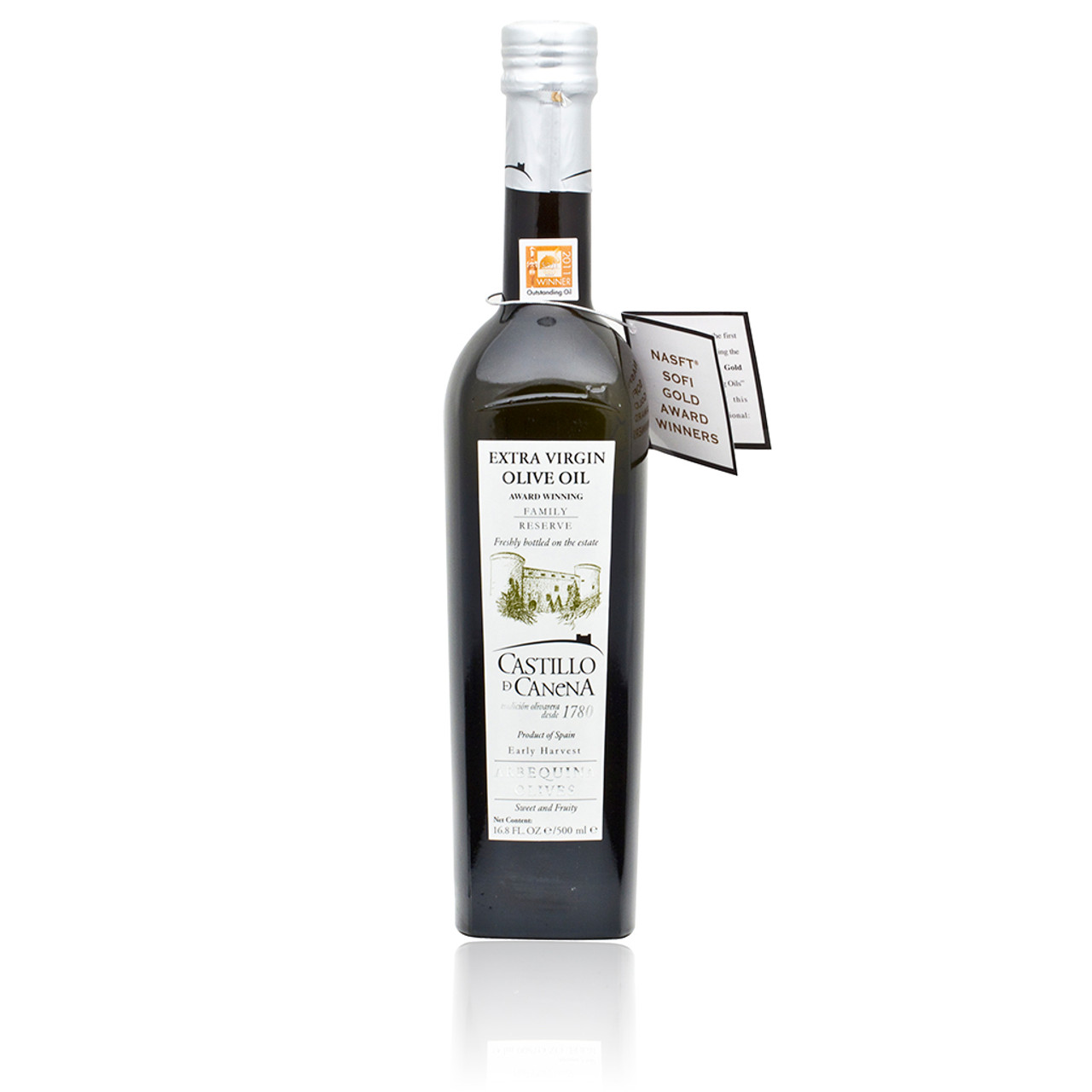 Extra Virgin Olive Oil Castillo de Canena Arbequina Family Reserve 500ml