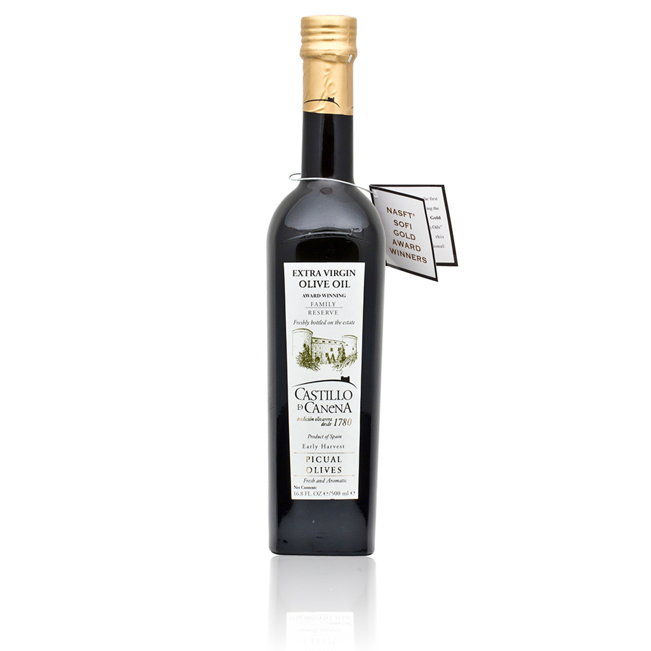 Extra Virgin Olive Oil Picual Family Reserve 500ml