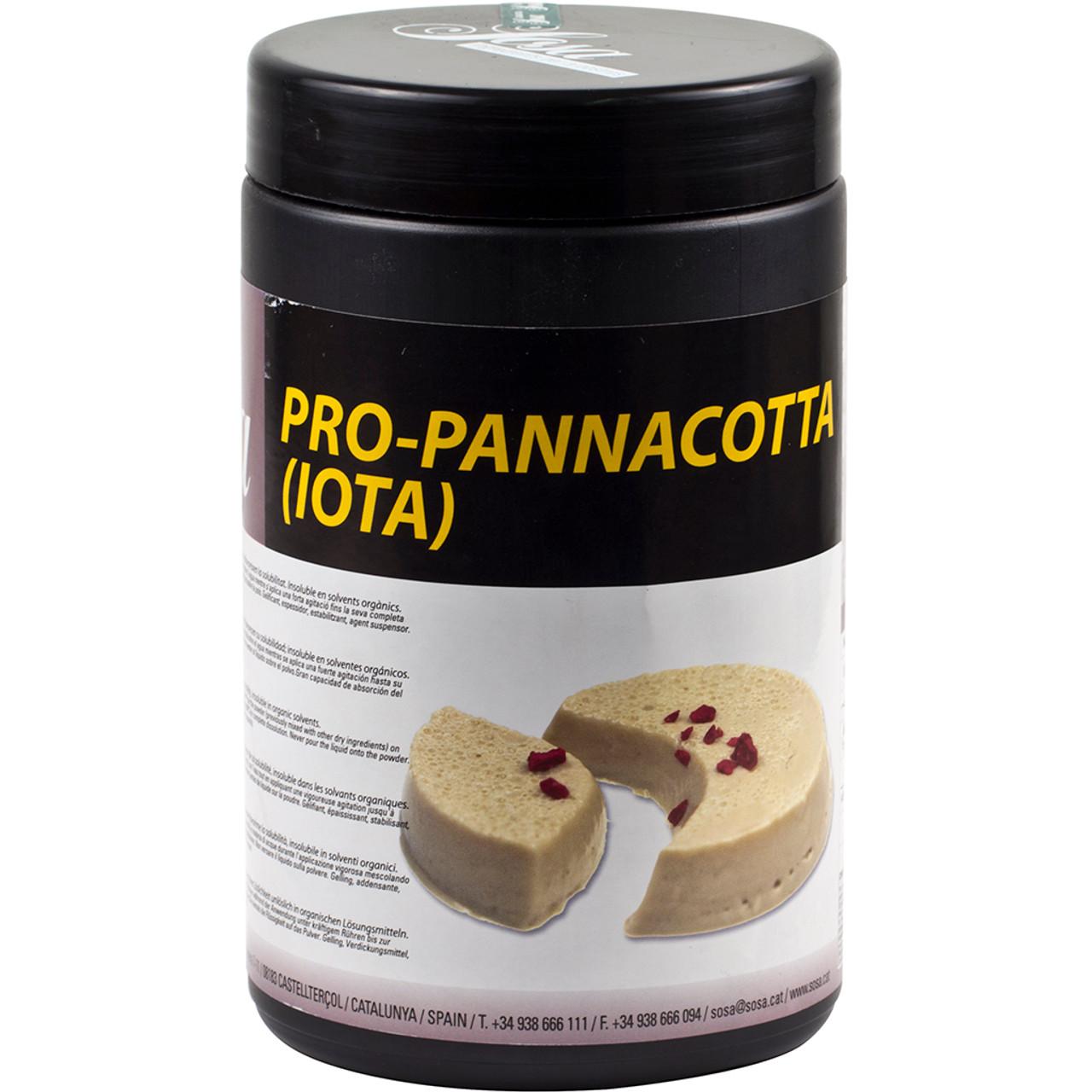 Sosa Pro Pannacotta 800g