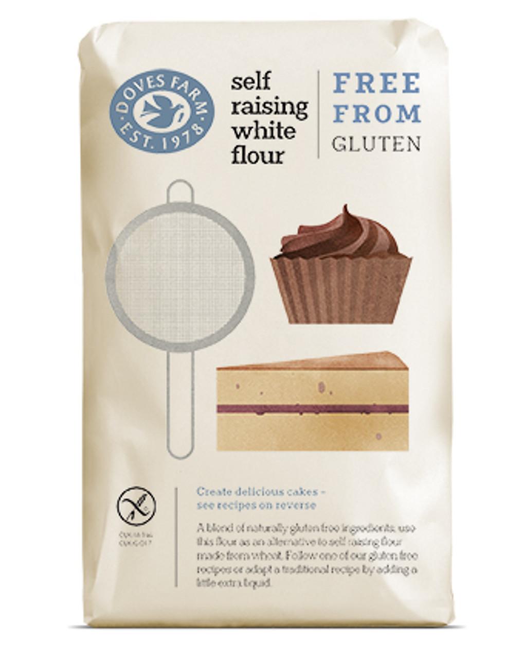 Doves Farm Gluten Free Self Raising White Flour 1kg