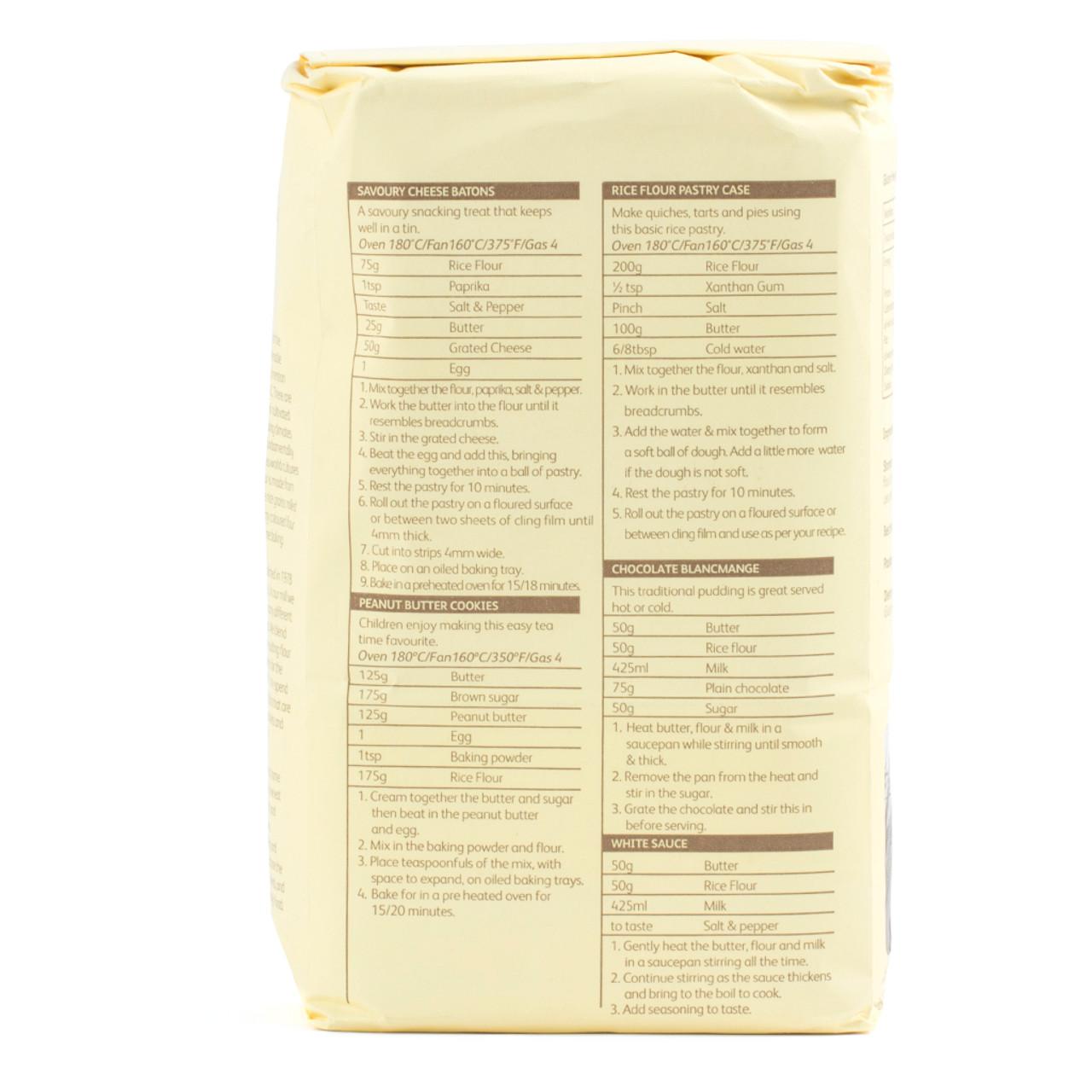 Doves Farm Gluten Free Rice Flour 1kg