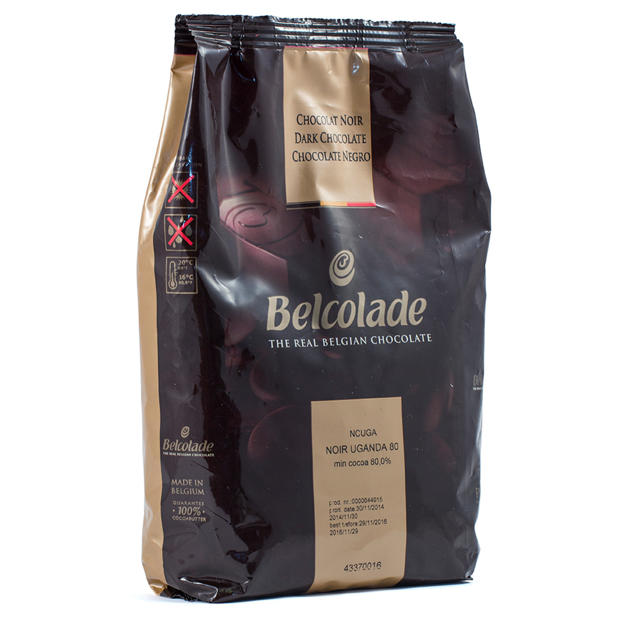 Becolade 80% Chocolate 1kg