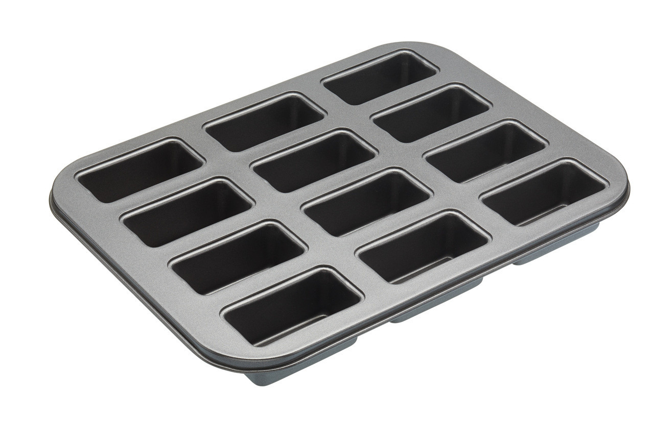 Master Class Loose Bottom Loaf Tray x12