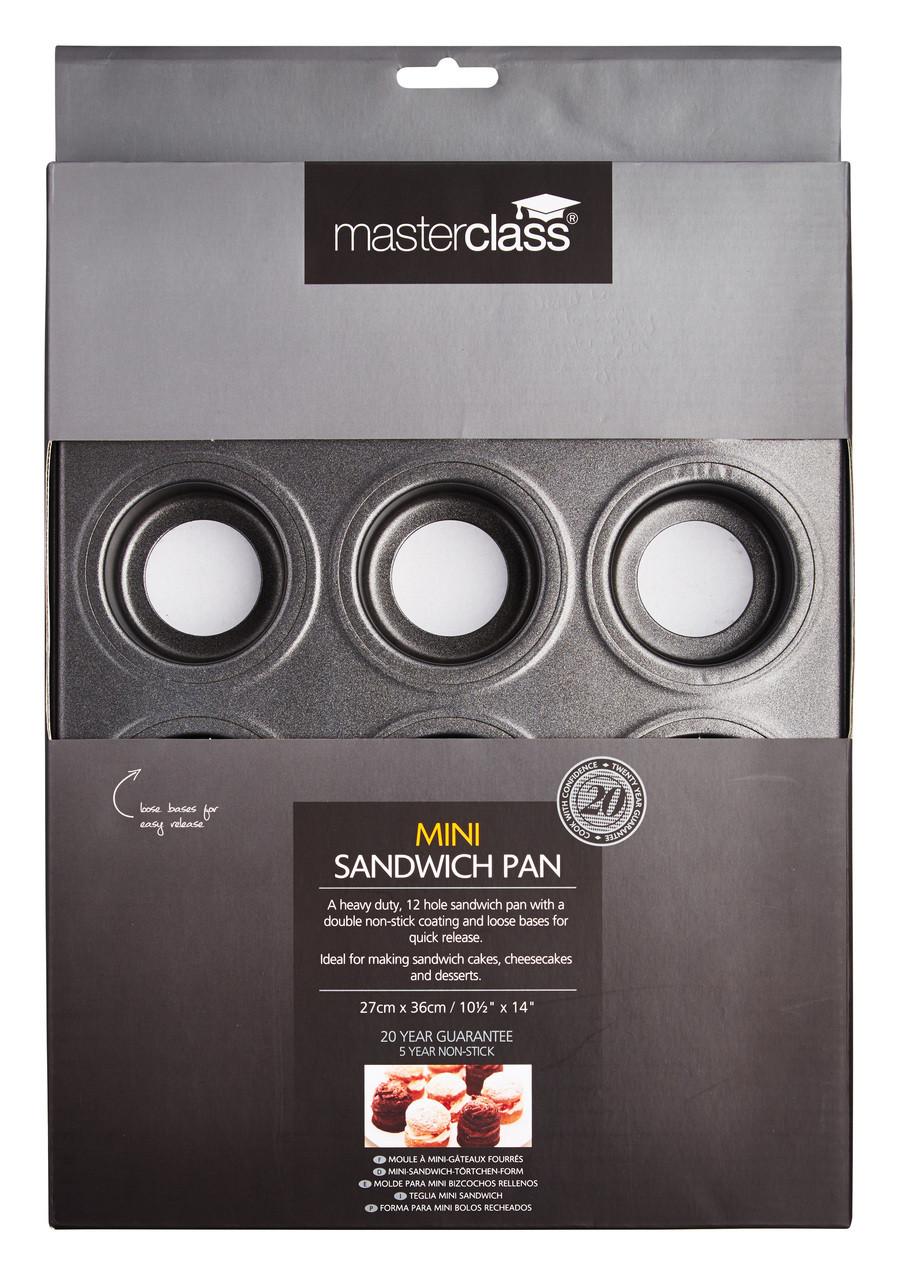Masterclass Loose Mini Sandwich Tray x12