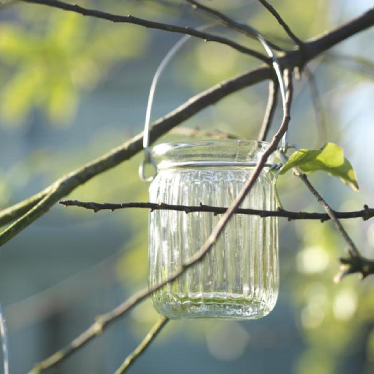 Hanging Jar T-Light Holder