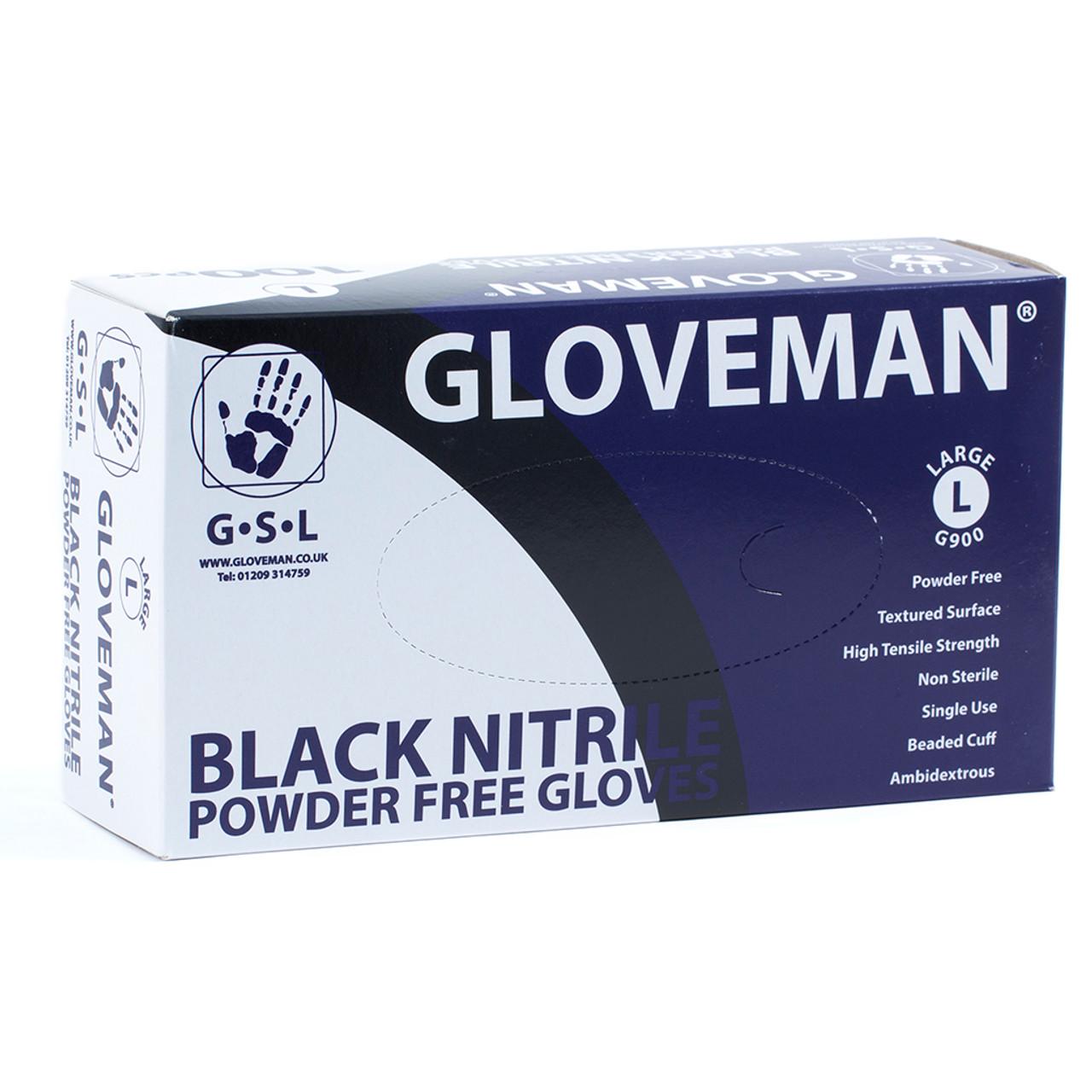 Black Nitriles Gloves