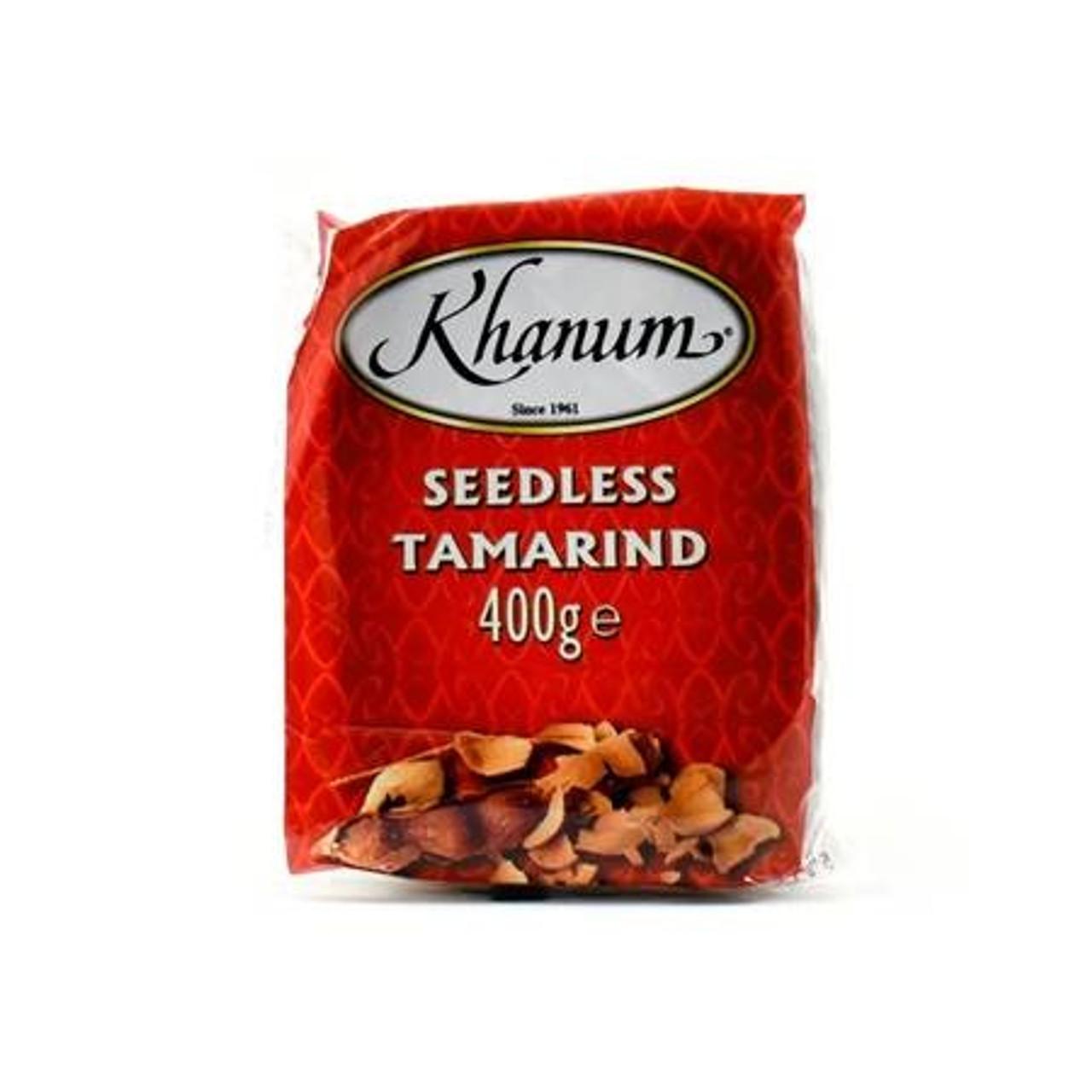 Khanum Seedless Tamarind 400g