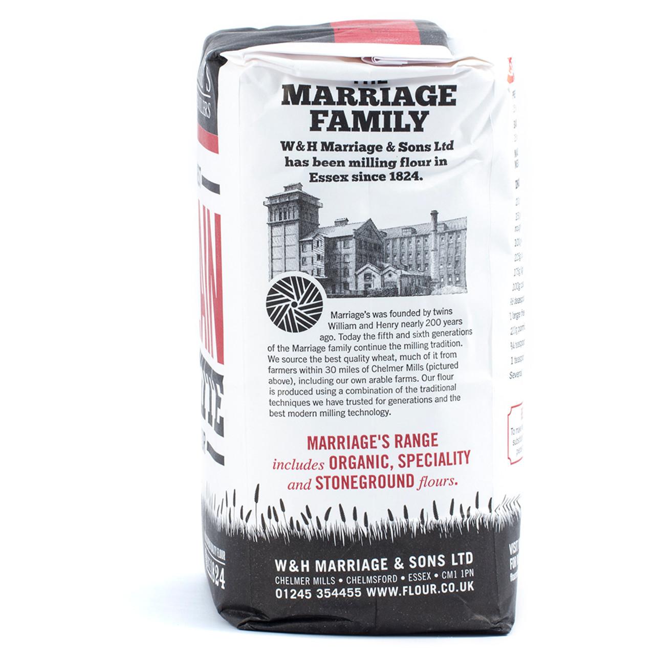Marriage's Plain Flour 1.5kg