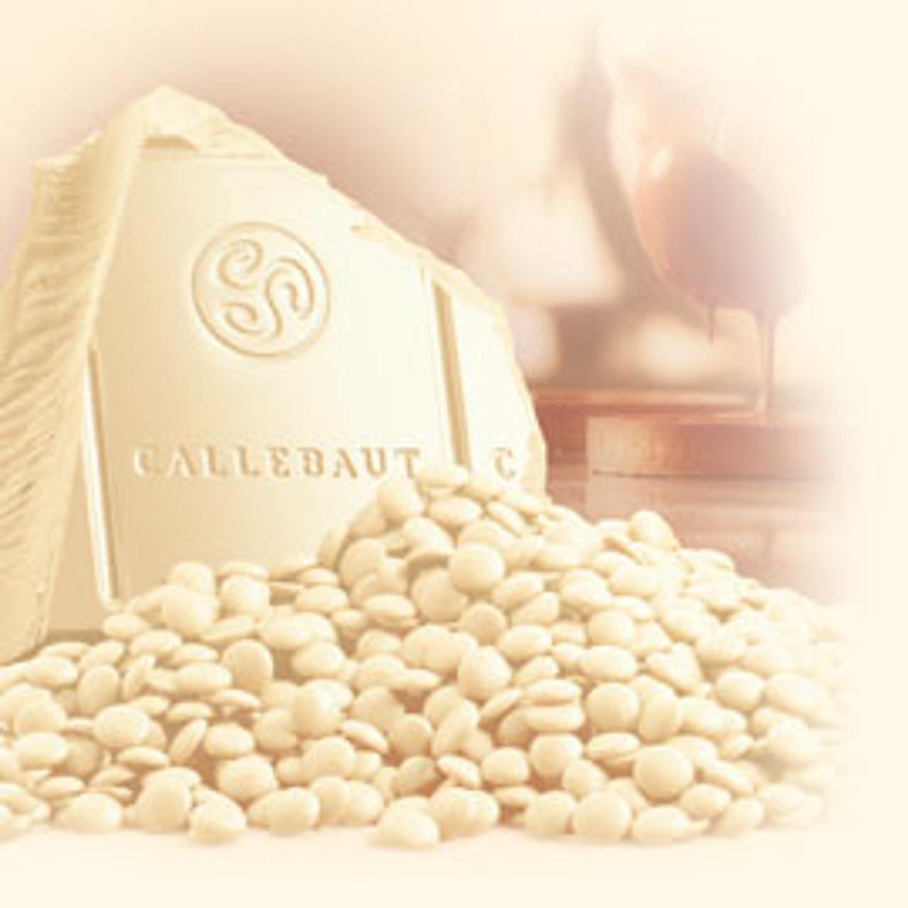 Chocolate Callets Callebaut 1kg W2NV White