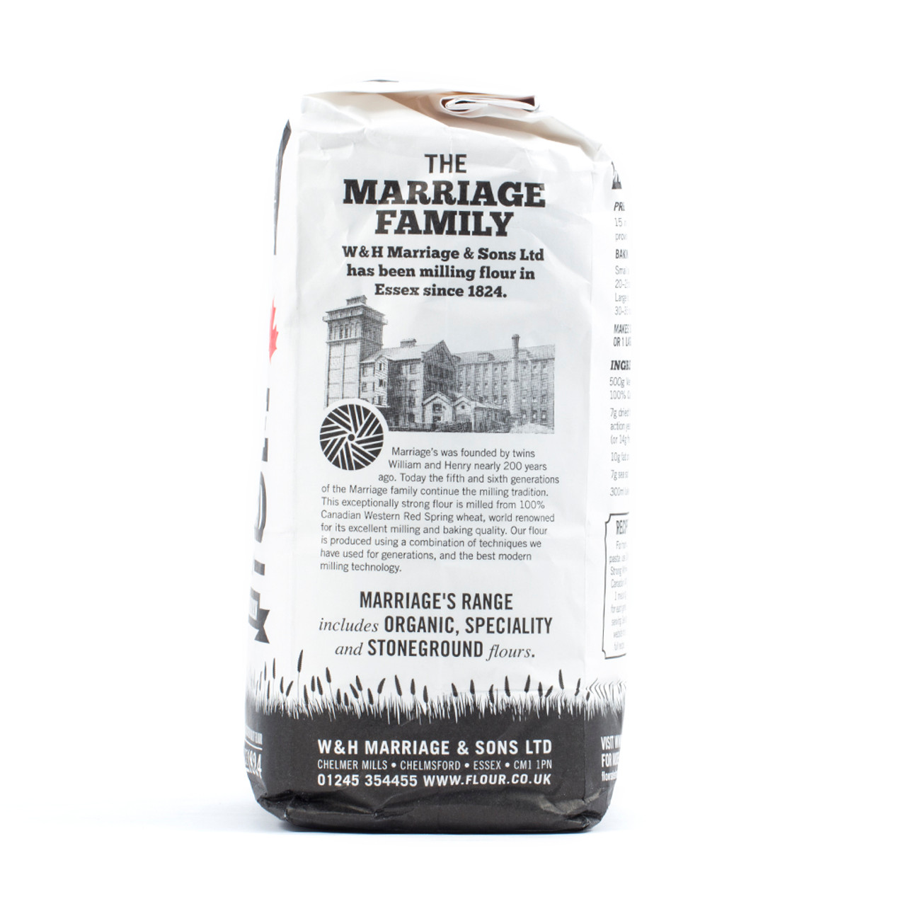 Marriages Canadian Very Strong White Bread 1.5kg