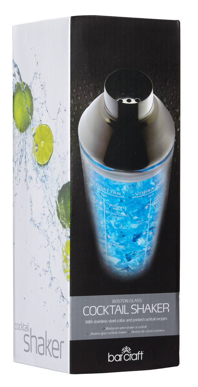Cocktail Shaker Glass Boston - 700ml