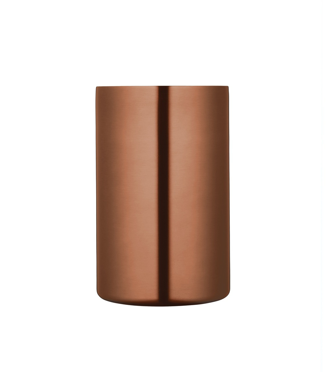 COOPER DOUBLE WALLED COPPER FINISH WINE COOLER