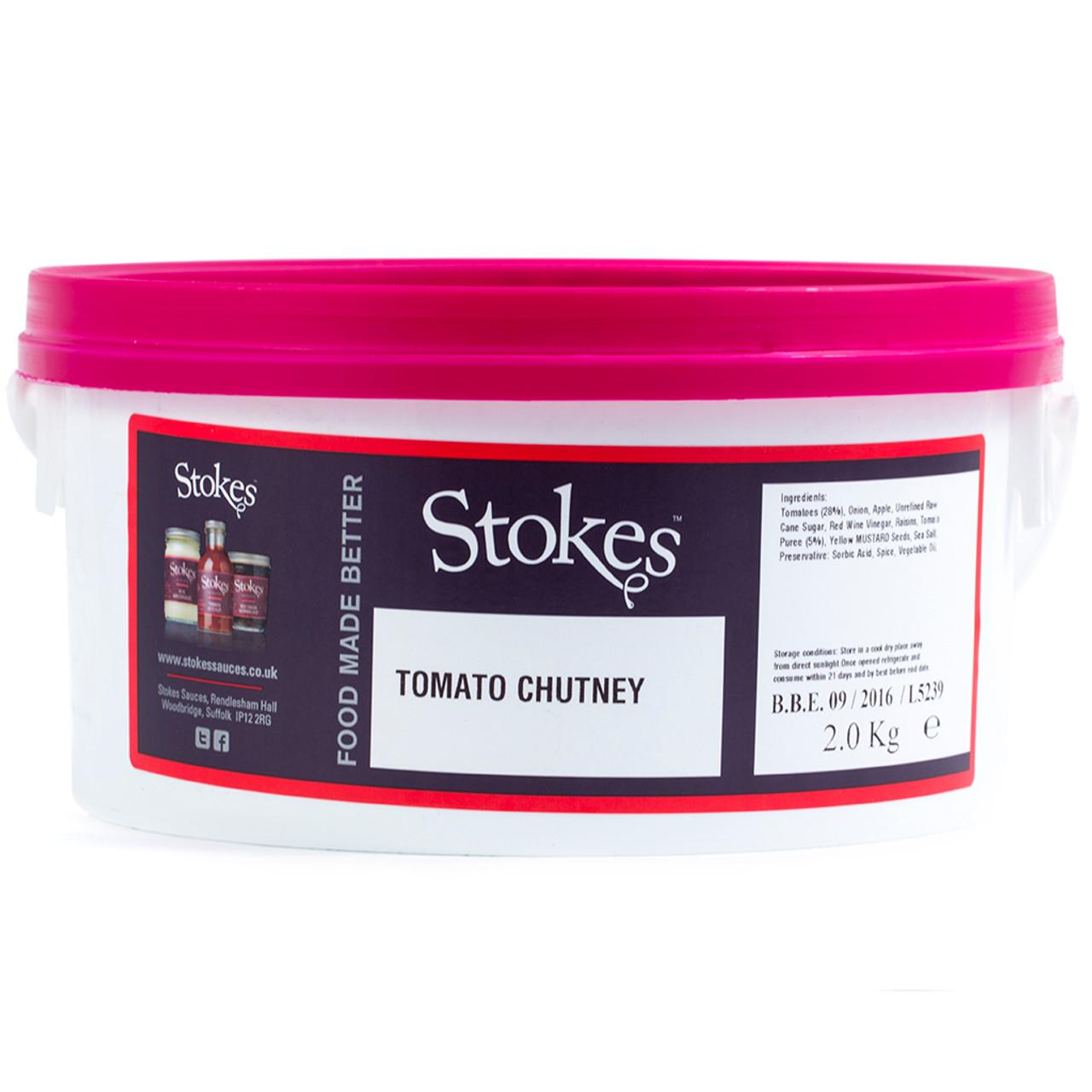 Stokes - Tomato Chutney 2kg