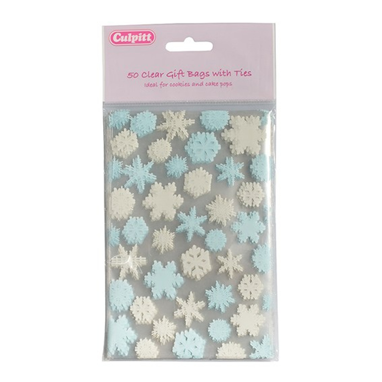 Snowflake Favour Bag x50