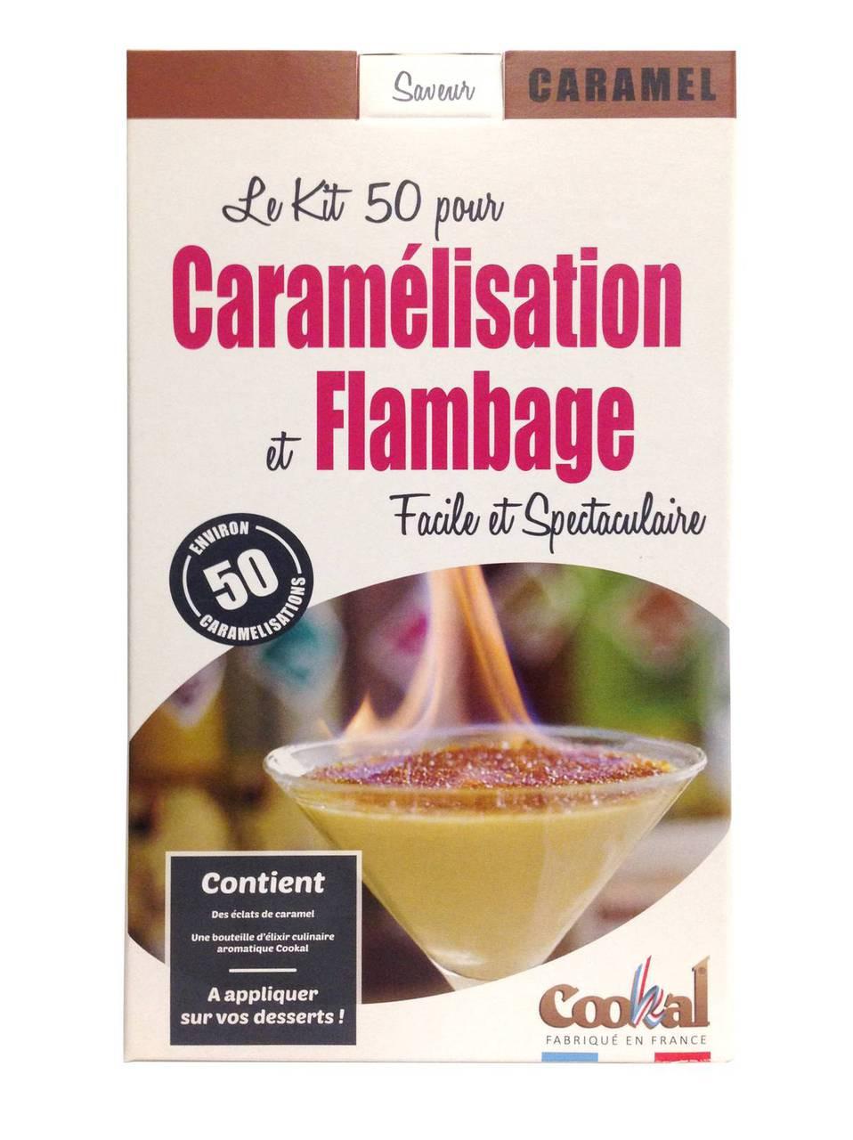 Cookal Caramelisation Creme Brulee Kit