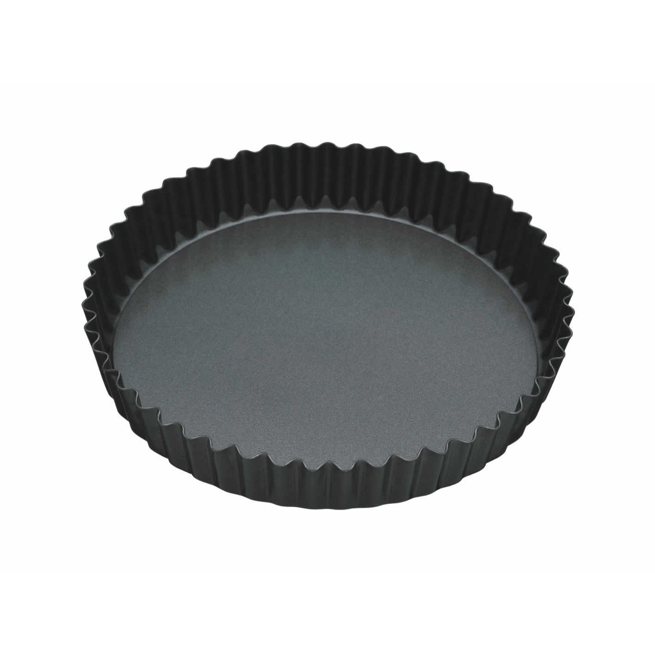 Master Class Non-Stick Fluted Loose Base Quiche Tin Round 23cm