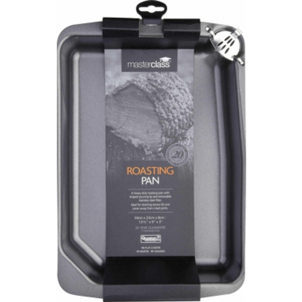 Master Class Non-Stick Roasting Pan with Pouring Lip