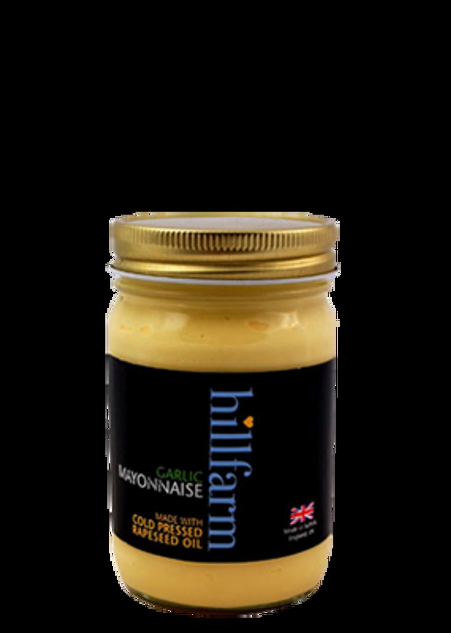 Hillfarm Rapeseed Garlic Mayonnaise