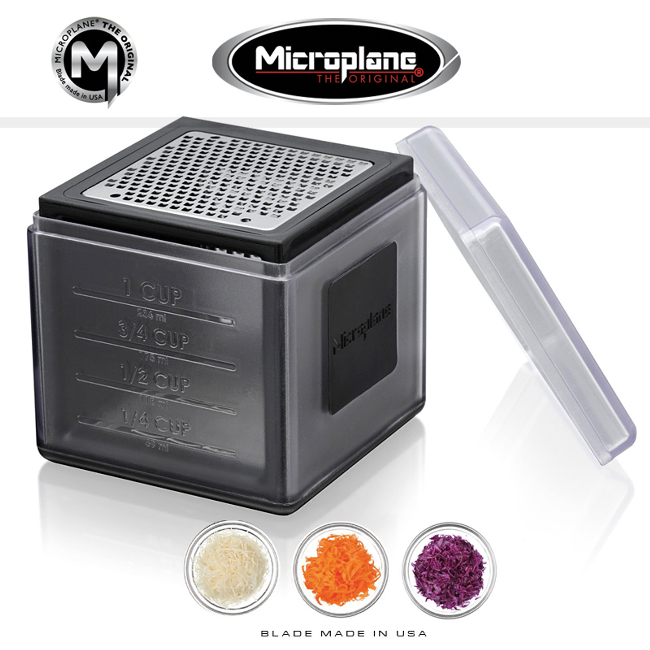 Microplane - Cube Grater - Black