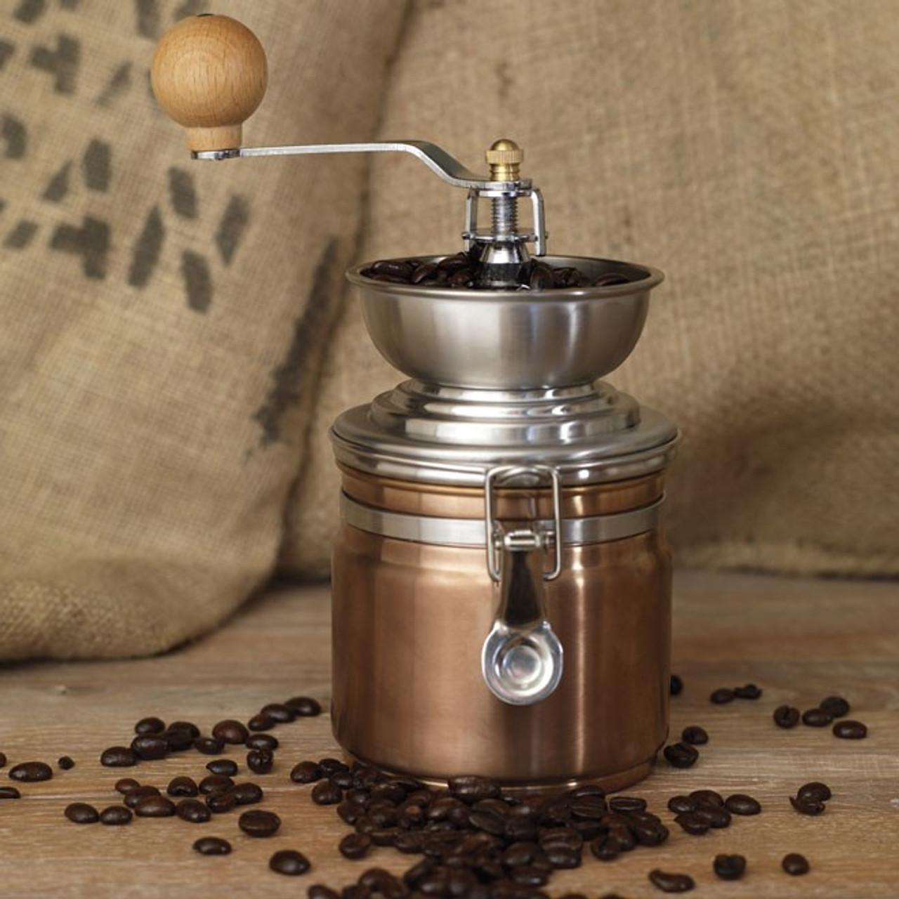 La Cafetiere Origins Coffee Grinder Copper