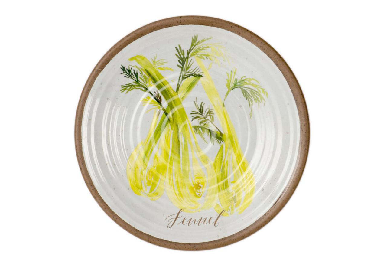 Alfresco Fennel Side Plate 22cm