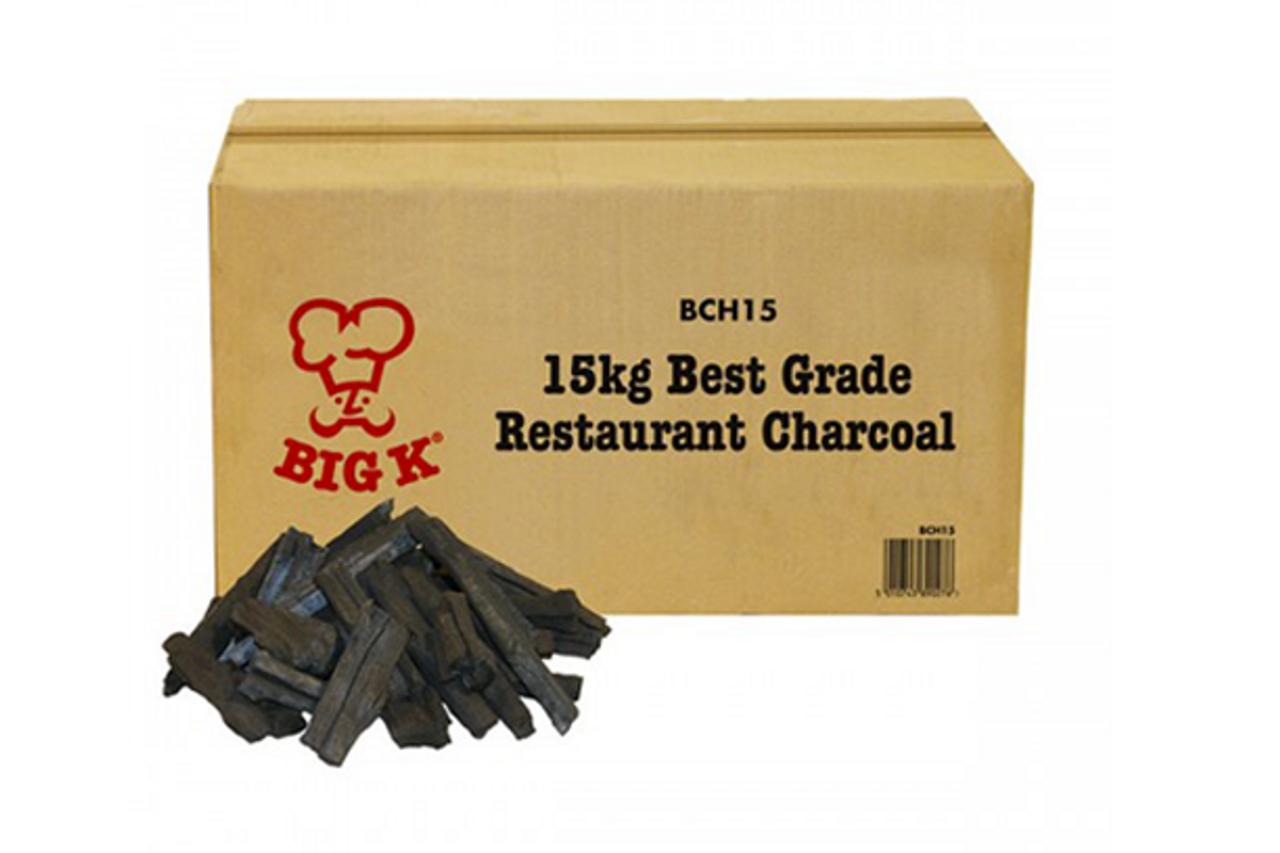BIG K Restaurant Quality Charcoal 15kg