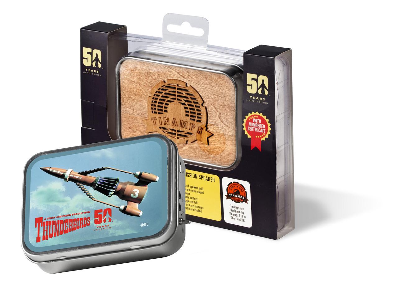 Tinamps Retro Speaker - Thunderbird 3 Limited Edition