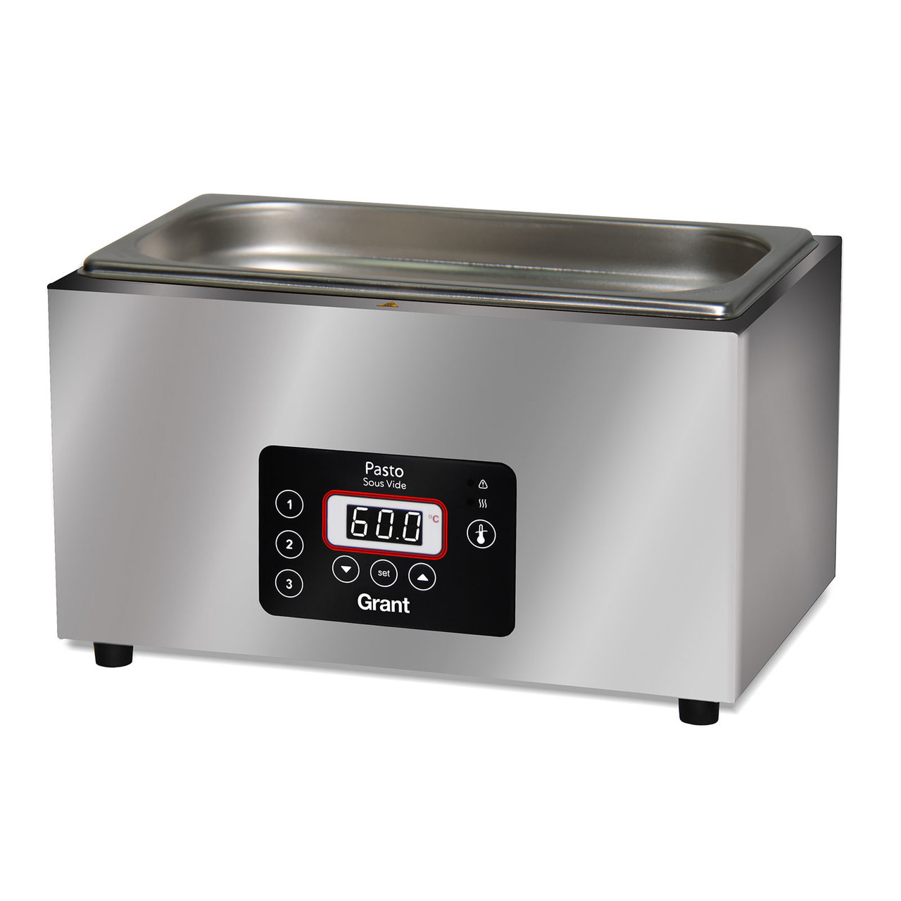 Grant - Pasto Sous Vide Water Bath 5lt - Stainless Steel