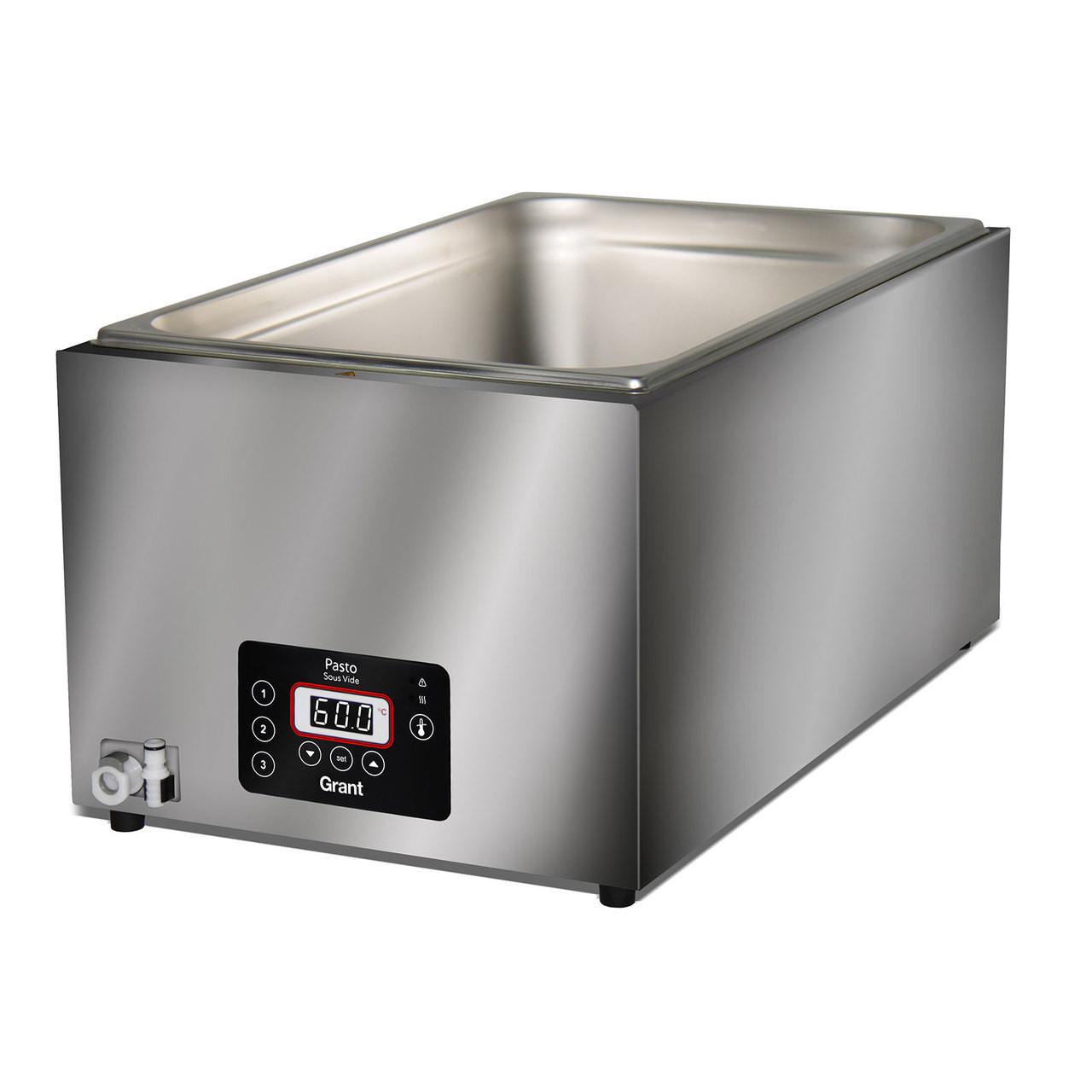 Grant - Pasto Sous Vide Water Bath 26lt - Stainless Steel