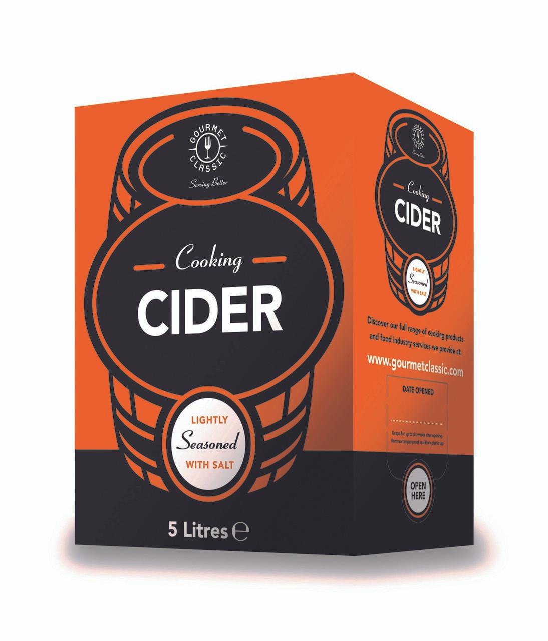 Gourmet Classic Cooking Cider 5lt