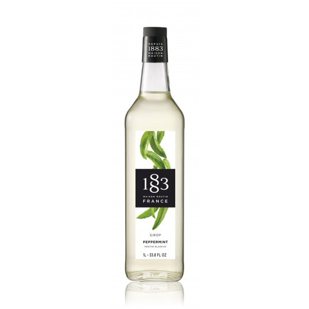 1883 Syrup Peppermint - 1L (Glass Bottle)