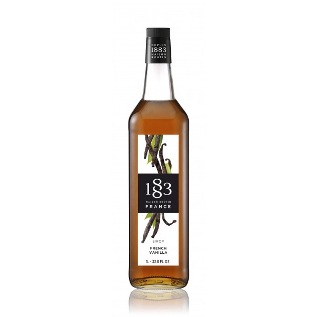 1883 Syrup French Vanilla - 1L (Glass Bottle)