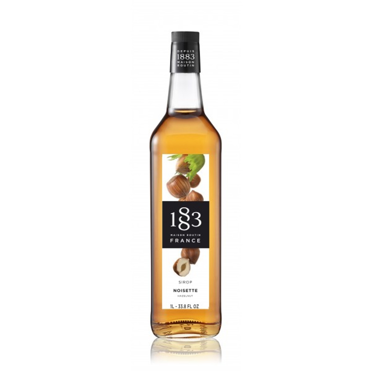 1883 Syrup Hazelnut - 1L (Glass Bottle)