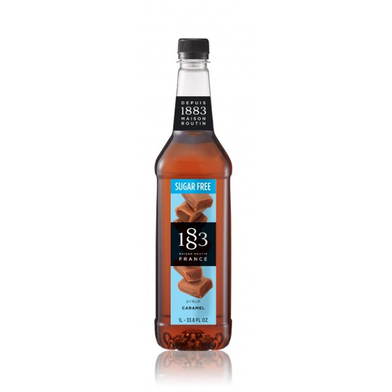 1883 Syrup Sugar Free Caramel - 1L (Plastic Bottle)