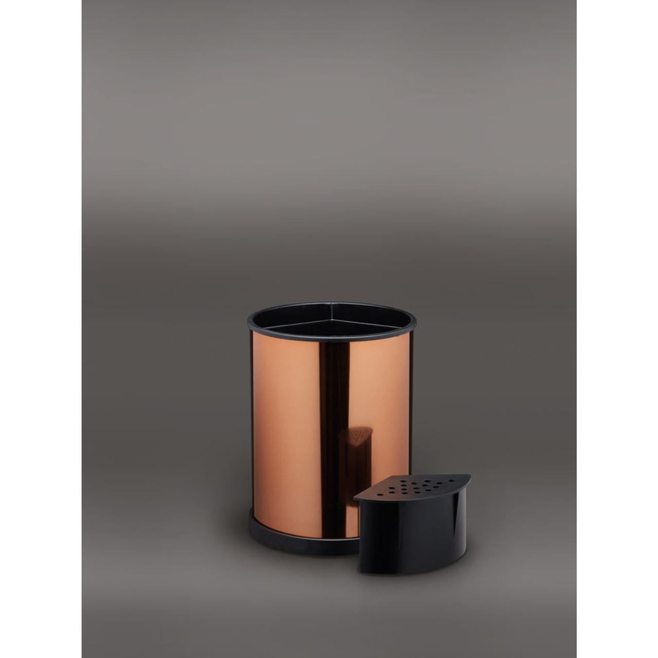 Copper Rotating Utensil Holder
