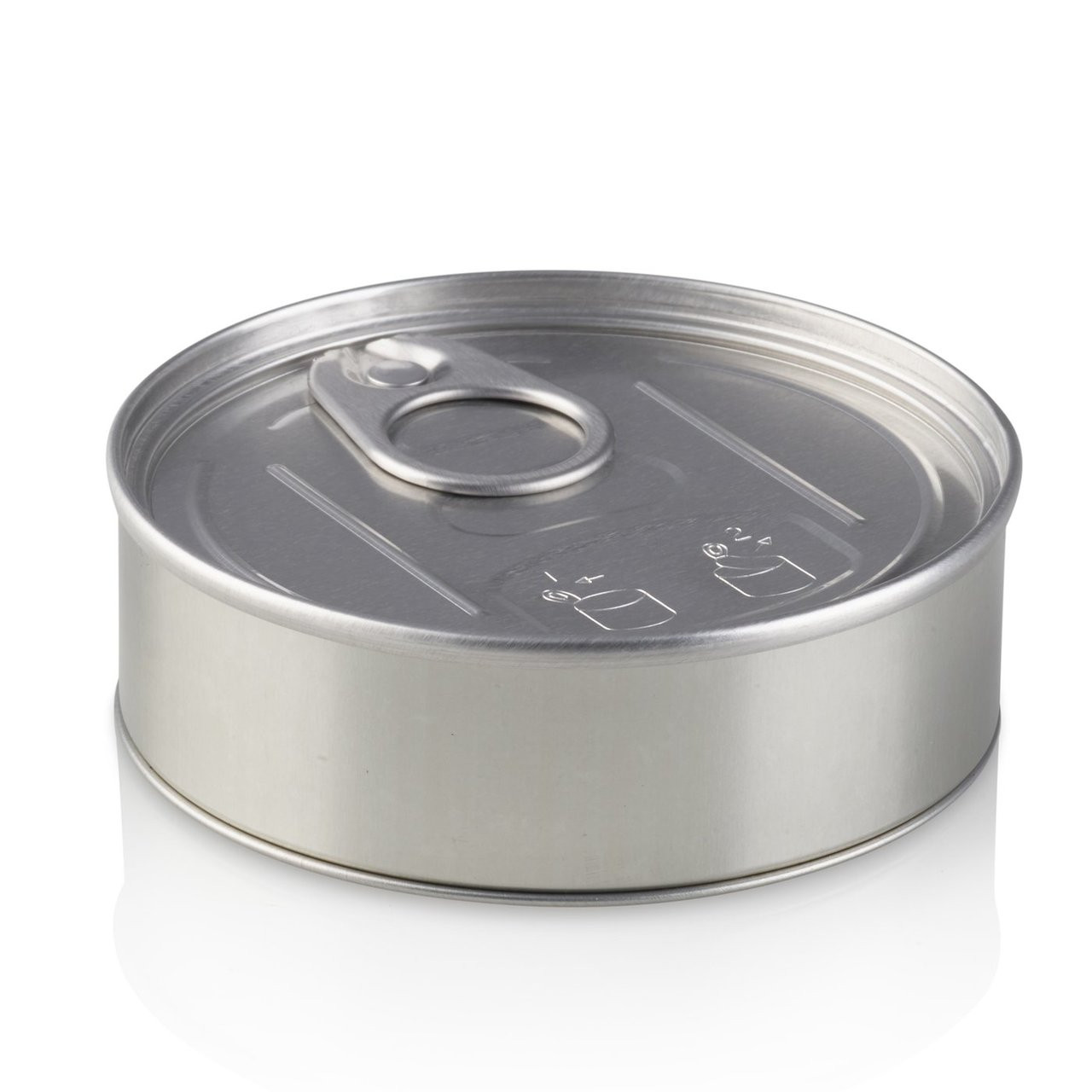 Baked Bean Tin With Ring Pull Lid - 100ml