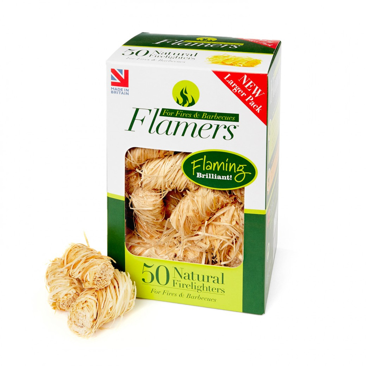 Flamers Natural Firelighters x50